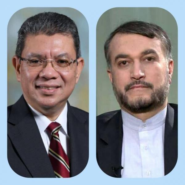 تور مالزی ارزان: پیغام وزیر امور خارجه مالزی به امیر عبداللهیان